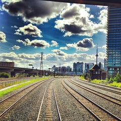 Photo taken at Via Rail Train by Hugo G. on 8/14/2013
