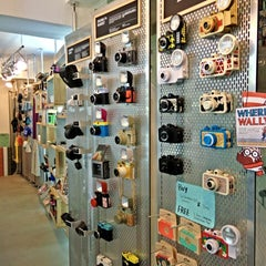 Photo taken at Lomography Gallery Store by Richard L. on 12/17/2013