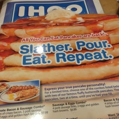 Photo taken at IHOP by Robert M. Y. on 1/15/2013