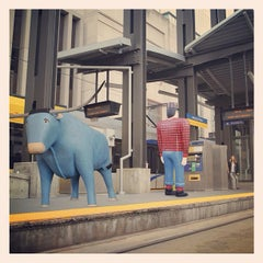 Photo taken at Nicollet Mall LRT Station by Kelsey on 8/17/2013