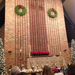 Photo taken at Saint Timothy's Episcopal Church by Jason M. on 12/24/2014