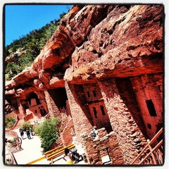 Photo taken at Manitou Cliff Dwellings by HTEDance on 7/3/2013