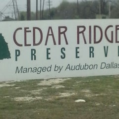 Photo taken at Cedar Ridge Preserve by Sheila H. on 3/19/2013