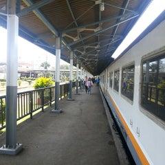 Photo taken at KA Argo Parahyangan by Bambang R. on 9/21/2014