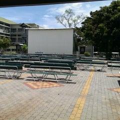 Photo taken at โรงหนังเฉลิมกว้าง by Nathawat B. on 8/24/2013