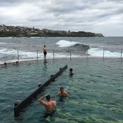 Photo taken at Bronte Beach Pool by Helen on 11/21/2015