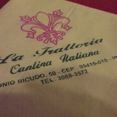 Photo taken at La Trattoria by Ary O. on 3/26/2013