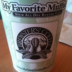 Photo taken at My Favorite Muffin Bagel & Cafe by Thomas A. on 10/28/2013