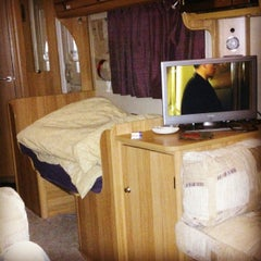 Photo taken at Leek Camping and Caravanning Club Site by Alex. S. on 1/31/2014