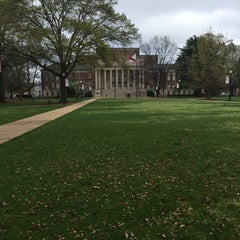 Photo taken at University of Alabama Quad by Lucy A. on 3/24/2015