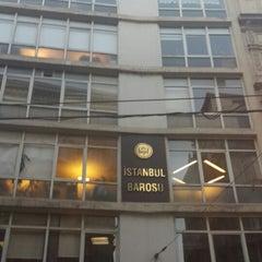 Photo taken at İstanbul Barosu by Av. Mustafa Kürşad A. on 10/21/2013