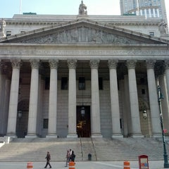 Photo taken at New York Supreme Court by Rob G. on 4/7/2013