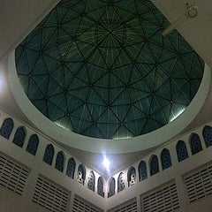 Photo taken at Masjid Baiturrahim by Cingah M. on 10/31/2012