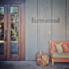 Photo taken at Farmstead at Long Meadow Ranch by Krista S. on 10/7/2012