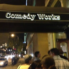Photo taken at Comedy Works Downtown in Larimer Square by GayeLynn_M on 8/31/2013