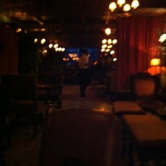 Photo taken at Bowery Hotel Lobby Bar by Bruce S. on 3/22/2013