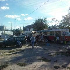 Photo taken at Трамвайна станція «Семена Скляренка» by Владимир С. on 9/11/2015
