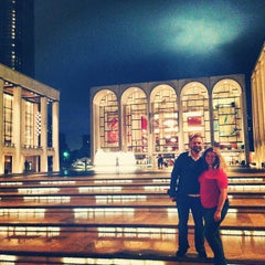 Photo taken at Lincoln Center Plaza (Josie Robertson Plaza) by Zack S. on 6/19/2013