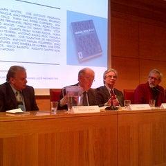 Photo taken at Instituto de Ciências Sociais - Universidade de Lisboa by Couceiro A. on 11/28/2013
