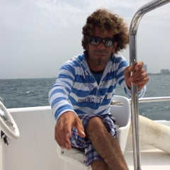 Photo taken at Marina Club | کلوپ ساحلی کیش by KubiLay E. on 3/16/2014