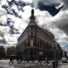 Photo taken at Metro Banco de España by Gianfranco L. on 3/6/2013