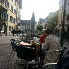 Photo taken at Fronwagplatz by Pat T. on 10/21/2013
