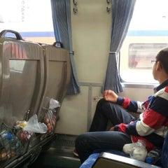 Photo taken at 청량리역 (Cheongnyangni Stn.) by Yonglyoul K. on 9/15/2012