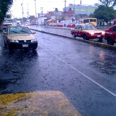Photo taken at Cruce Camarones Y Parque Via by Fany C. on 6/18/2014