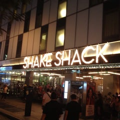Photo taken at Shake Shack by Maha G. on 7/23/2013