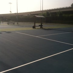 Photo taken at Austin High Tennis Center by Ruby M. on 7/11/2014
