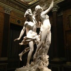 Photo taken at Galleria Borghese by Dario on 5/18/2013