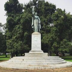 Photo taken at William McKinley Statue by Mantas V. on 8/14/2015