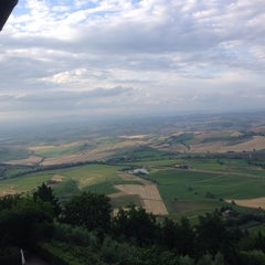 Photo taken at Dei Capitani Hotel Montalcino by Fauzi F. on 6/26/2014