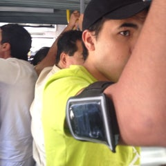Photo taken at Metrobus Magdalena De Las Salinas by Brenda R. on 7/13/2014