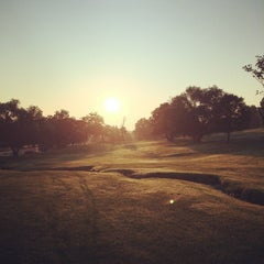 Photo taken at Newton Commonwealth Golf Course by Thomas B. on 8/6/2014