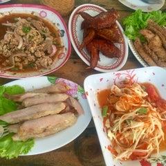 Photo taken at ร้านส้มตำภูไท by To3i :. on 3/19/2015