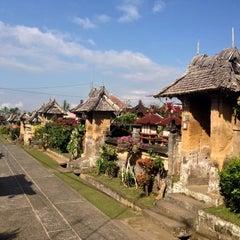 Photo taken at Desa Adat Tradisional Penglipuran (Balinese Traditional Village) by Alfiana R. on 8/22/2015