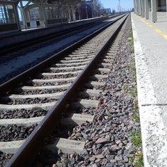 Photo taken at Tartu Raudteejaam by Kairi P. on 5/4/2013