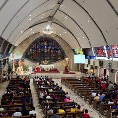 Photo taken at San Ildefonso Parish by Robert R. on 1/19/2014