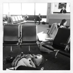 Photo taken at Gate C29 by Mackenzie R. on 5/6/2012