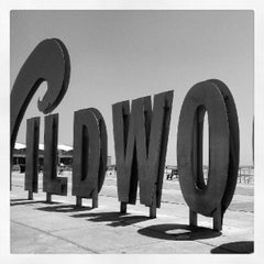 "Photo taken at ""Wildwoods"" Sign by Michael V. on 7/24/2012"