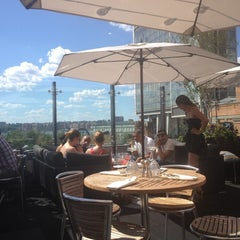 Photo taken at STK Rooftop by Brittney on 6/23/2012