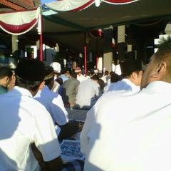 Photo taken at Masjid Agung Baitussalam by Zie'zee F. on 8/18/2012