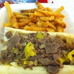 Photo taken at Philly Steak & Gyro by Patrick V. on 9/2/2012