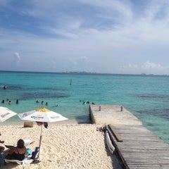 Photo taken at Isla Mujeres by Ali M. on 7/21/2012
