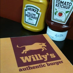 Photo taken at Willy's Authentic Burger by Simey S. on 5/4/2012
