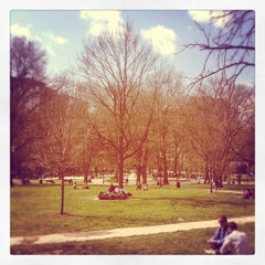 Photo taken at Franklin Square Park by Ben S. on 3/13/2012