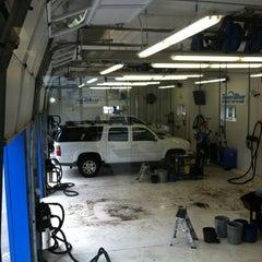 Photo taken at Team Blue Hand Car Wash by Scott T. on 4/21/2012