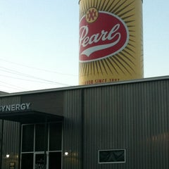 Photo taken at Pearl Brewery by Alfred M. on 4/18/2012