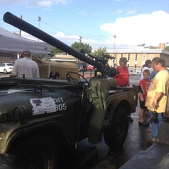 Photo taken at Bantam Jeep Heritage Festival by Sheila S. on 8/10/2012